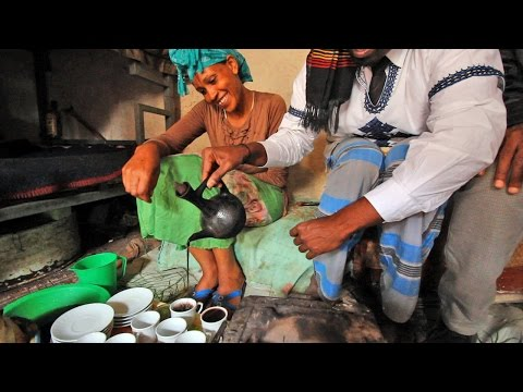 How to have the Ethiopian Coffee ceremony: Wilbur Sargunaraj