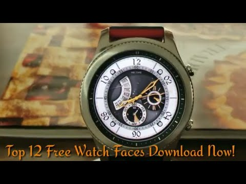 Top 12 Free Gear S3 Watch Faces *Hurry Download Now!*