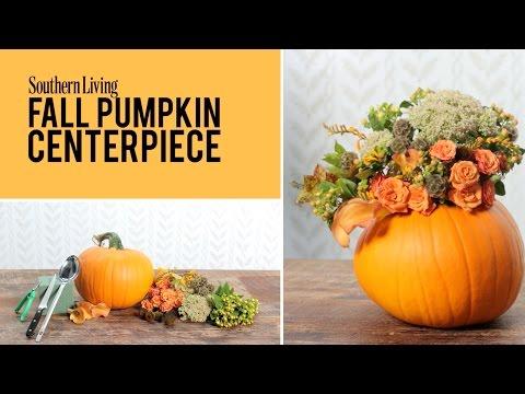 Fall Pumpkin Centerpiece | Fall Decoration