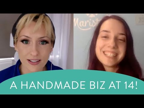 Marina shares the secrets of her success - how to start a maker handmade business