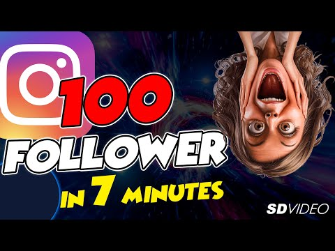 HOW TO GET 100 INSTAGRAM FOLLOWERS IN 5 MINUTES...For FREE!!