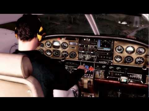 PA-34 Seneca|HD Flight from Princess Juliana to St.Barts|Realistic FSX