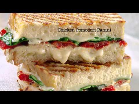 Chicken Pomodori Panini: Must. Have. Now.