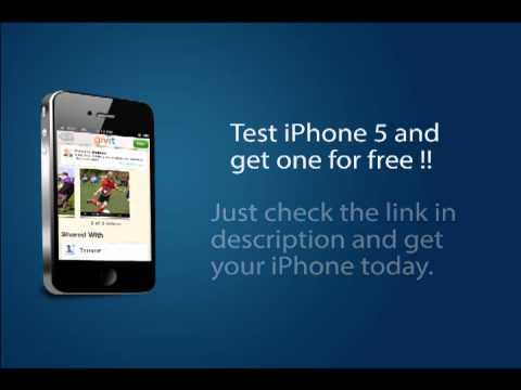 Take iPhone 5 for free