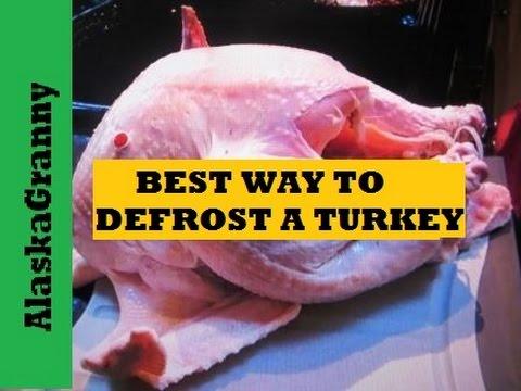 Best Way To Defrost A Turkey