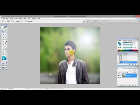 Adobe Photoshop CS Tutorial (DSLR Type Image Edit)