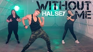 Without Me - Halsey | Caleb Marshall | Dance Workout