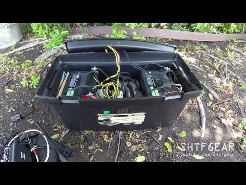 DIY Solar Generator in a Tool Box Updated - A Closer Look