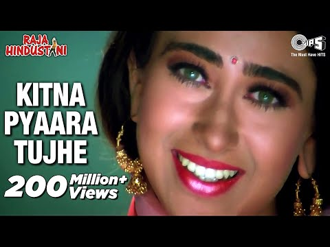 Xxx Mp4 Kitna Pyaara Tujhe Full Video Raja Hindustani Alka Yagnik Udit Narayan Aamir Khan Karisma 3gp Sex