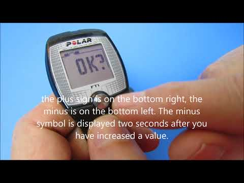 Ft1 polar heart monitor fitness tracker review & how to use it