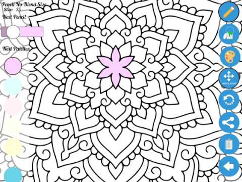 Zen Coloring book app for adults - Best coloring apps for adults