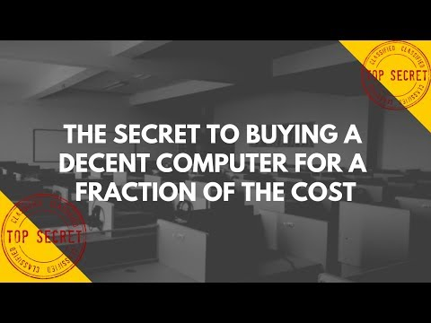 Quick Tips: The Secret to Buying a Decent Computer for a Fraction of the Cost!