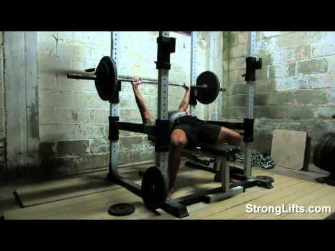 Bench Press Fail... Or Why You Need A Power Rack