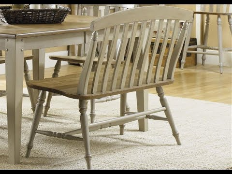 Dining Bench with Backrest,