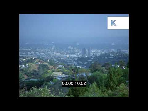 1970s Hollywood Sign In Ruin Los Angeles HD from 35mm | Kinolibrary