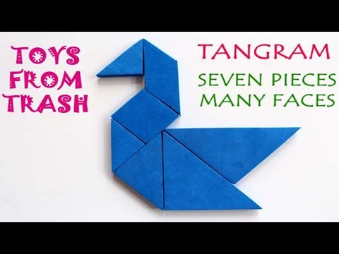 Tangram - Seven Pieces Many Faces | Hindi | Evergreen Puzzle