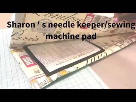 Classic Sewing machine mat