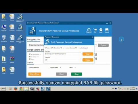 How to Quickly Recover Encrypted RAR/WinRAR File Forgotten Password