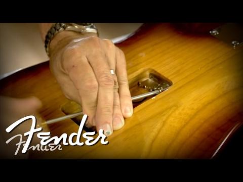 How to Install a Fender Tremolo Bridge | Fender