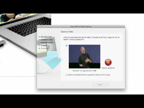 AppsMac.com Roxio Easy VHS to Dvd para Mac