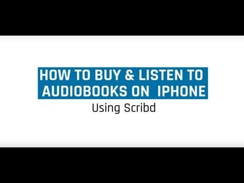 How To Buy and Listien to Audiobooks For Iphone