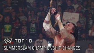 SummerSlam Championship Changes - WWE Top 10