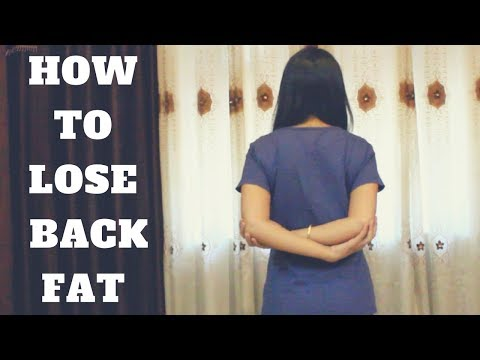 How To Lose Back Fat At Home | 5 Simple Exercises | WORKitOUT
