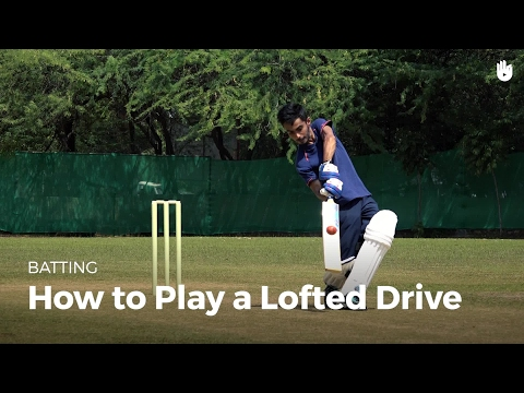 How to Play a Lofted Drive | Cricket