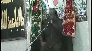 Majlis e Shahdat Hazrat Um e Kalsoom bint e Ali A.S by Allama Zameer Akhtar Naqvi