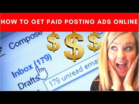 MCA Ads: How to easily get paid posting ads online for the Motor Club of America!