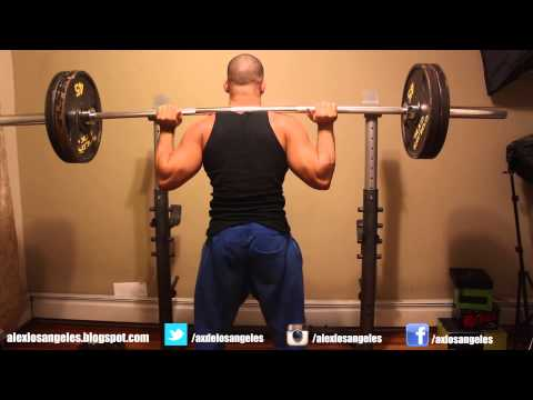 Full leg workout routine for bigger legs at home or gym