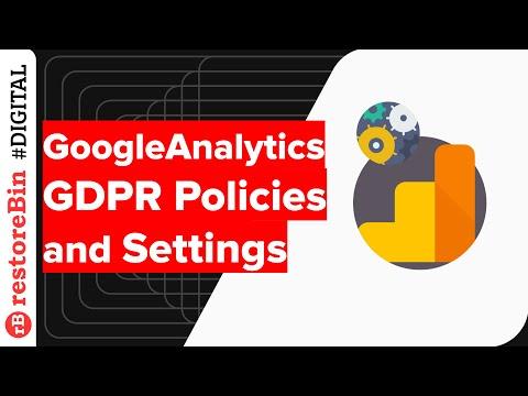 [Details and Demo] Google #Analytics GDPR policy and Data Retention settings - @restoreBin