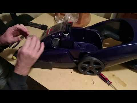 Bissell ProHeat Pet: Pump replacement fix (part 2)