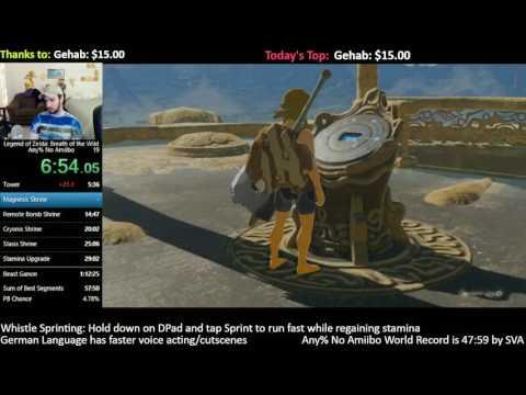[56:30] Zelda: BotW Speedrun Personal Best