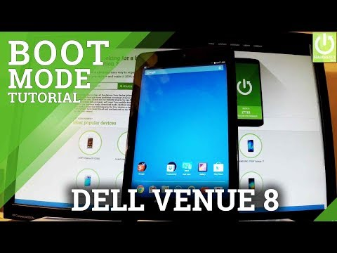 How to Enter Boot Mode in DELL Venue 8 - Exit Dell Boot Mode
