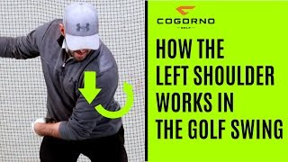 GOLF: How The Left Shoulder Works In The Golf Swing