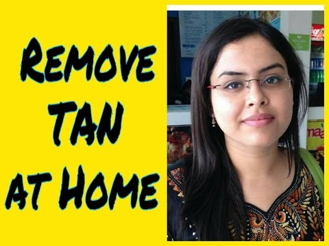 How to Remove Sun Tan from Face, Neck & Body at Home