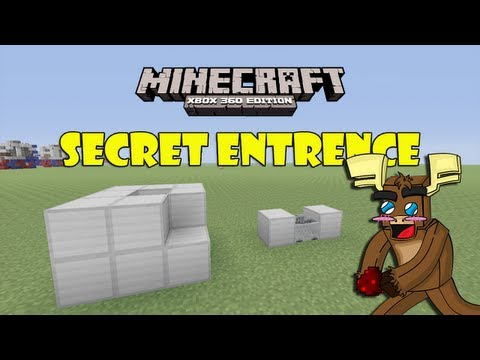 Secret Minecart Entrance