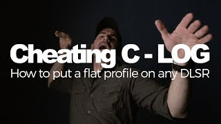 Installing Cinestyle or Prolost Flat Color Profiles on a