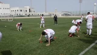 Сборная Таджикистана провела восстановительную тренировку. Часть 2