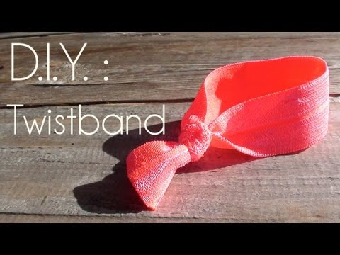 D.I.Y. : Comment faire un Twistband - How to make a Twistband
