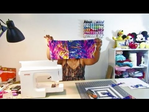 DIY: Bandeau Top & Ruched Bikini Bottom