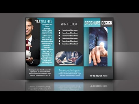 Brochure Design CorelDraw New Tutorial