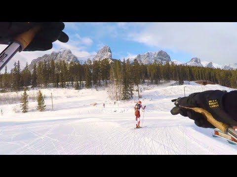 Sundance, Skiing the Canmore Nordic Centre