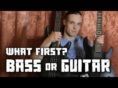 What should you learn first - BASS or GUITAR? | Andriy Vasylenko