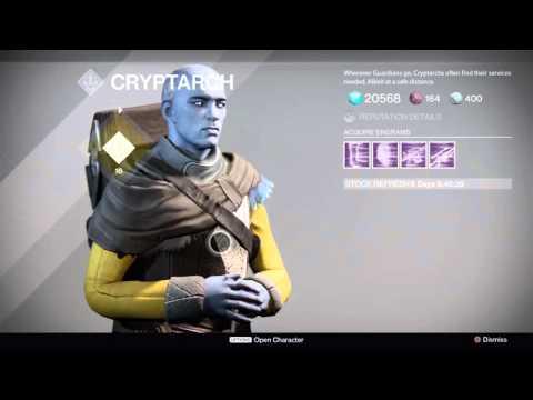 Destiny Nothing from ranking up Crypto-Archeology