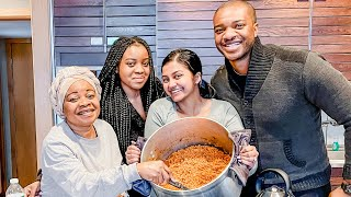 Cooking Jollof Rice With My Nigerian Mother-In-Law