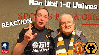 OUT OF GAS 🏆 Manchester Utd 1-0 Wolves REACTION FA Cup 3rd Rd Replay