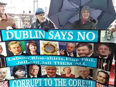DUBLIN SAYS NO - 200 WEEKS MARCHING