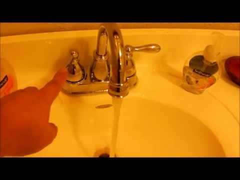 Troubleshooting a Low Pressure Faucet